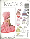 McCall's Patterns M4424 Infants' Dresses, Rompers, Panties and Hat, All Sizes