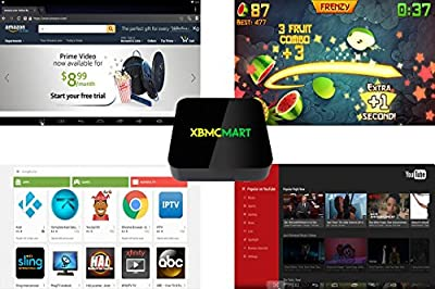XBMCMart Android TV Box Mini PC Media Player [Quad/Octa Core | 64-Bit | 4K]