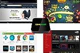 XBMCMart Android TV Box Mini PC Media Player [Quad/Octa Core | 64-Bit | 4K]