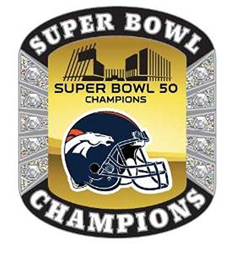 Aminco Usa Denver Broncos 2016 Super Bowl L (50) Champion...
