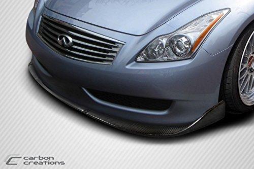 2008-2014 Infiniti G Coupe G37 Q60 Carbon Creations Chronos Front Lip Spoiler - 1 Piece - Buy