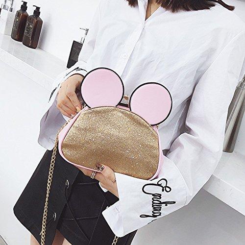 small snap Ladies fashion color simple Caramel bag shoulder clip cute single square GMYAN bag zwTSnqgT