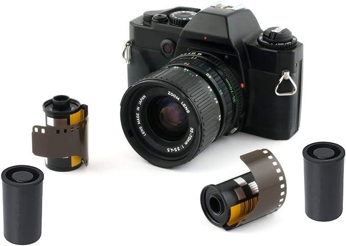 Filmdose Mit Kappen Für 35 Mm Folie Schwarz 30 Kamera