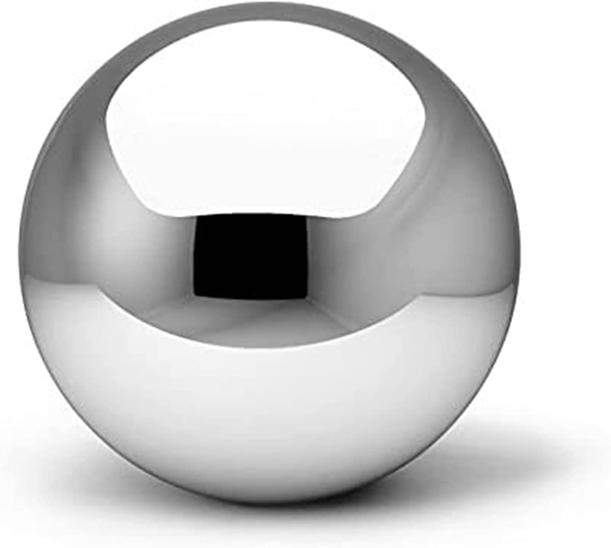 A&A Decor Gazing Balls for Gardens Hollow Ball Stainless Steel Gazing Ball Garden Balls Ornaments Seamless Mirror Ball Floating Pond Balls for Home Garden Ornament Decorations (Size : 12cm)