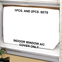 Air Conditioner Cover - 19W,14H,4D - Tired of the drafts of cold air!!! from your window mounted airconditioner? This product is finally the answer.