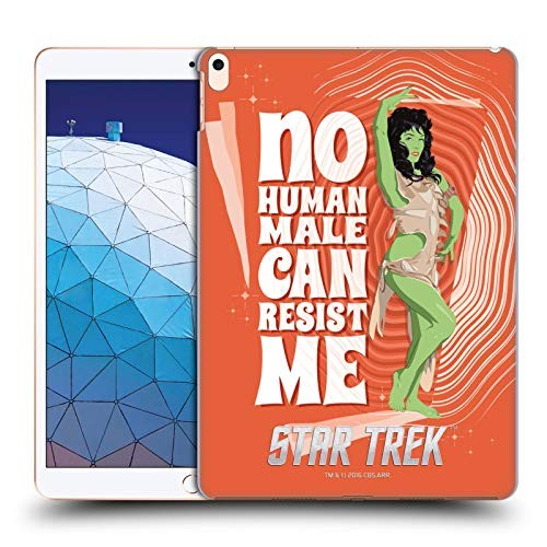 Official Star Trek Orion Female Embossed Iconic Characters TOS Hard Back Case Compatible for iPad Air (2019)