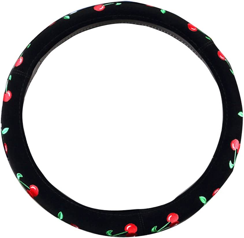Mayco Bell Automotive Women Embroidery Cute Car Steering Wheel Cover Beatles