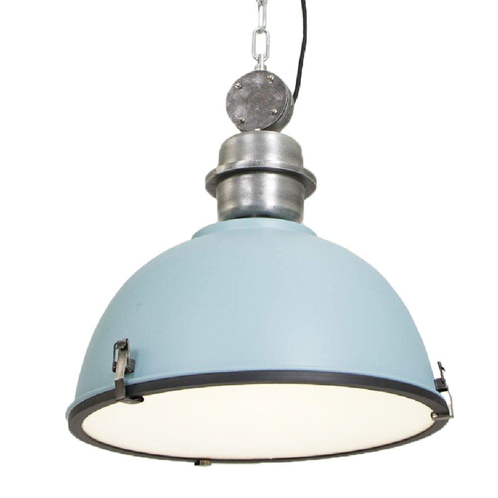 120V Italian Designed Hanging Industrial Pendant (Blue) - - Amazon.com