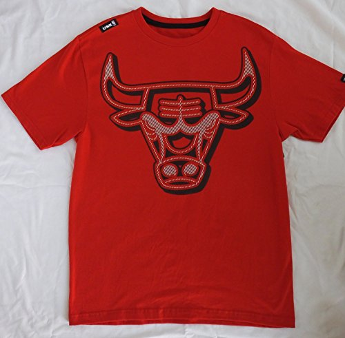 Chicago Bulls Official T-shirt - Official NBA Chicago Bulls Basketball Red T-shirt (x-large)