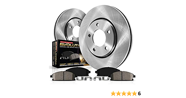 Autospecialty KOE3118 1-Click OE Replacement Brake Kit