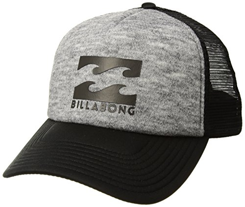 Billabong Men's Classic Trucker Hat, Grey Heather, (Billabong Trucker Hat)