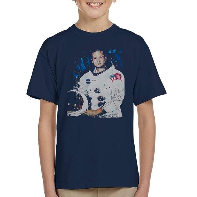 VINTRO Camiseta de Neil Armstrong Kid Traje Espacial ...
