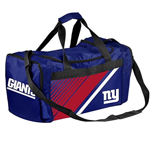 New York Giants NFL Border Stripe Duffle Bag (New York Border)