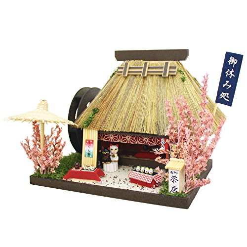 Billy handmade doll house kit Thatched House Kit teahouse 8441 (japan import) by Billy -