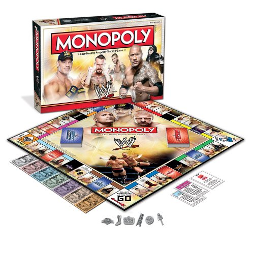 MONOPOLY: WWE Edition by USAopoly