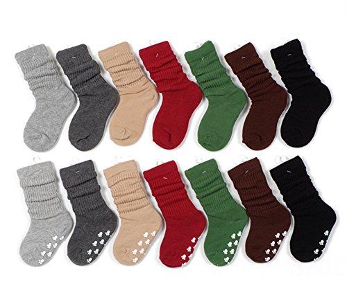 Eforstore 7 Pack Winter Warm Children Fashion Cotton Ruff...
