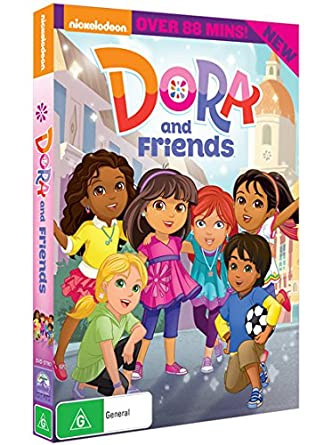 Dora And Friends Isabela Moner Ashley Earnest Eduardo Cardenas