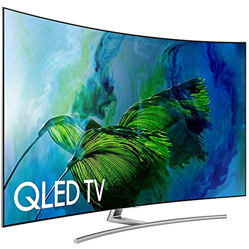 Samsung Electronics QN55Q8C Curved 55-Inch Ultra HD Smart QLED 4K TV