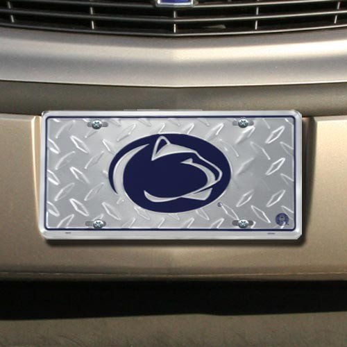 (Penn State Diamond License Plate Tin Sign 6 x 12in)