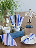 Le Chateau Stripes ~ French Country Rustic Nautical Napkin