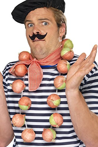Smiffy's Men's Onion Garland, Beige, One (The Onion Halloween Costumes)
