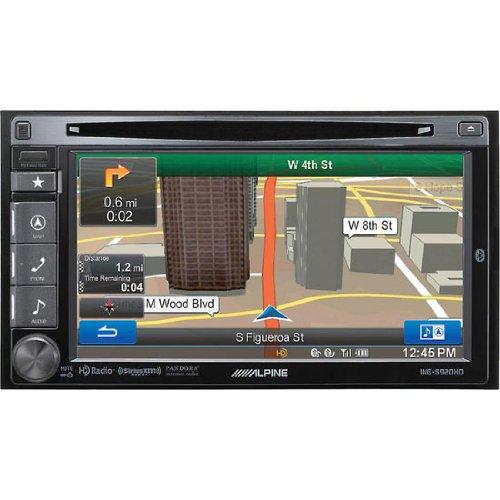 """Alpine INE-S920HD - Alpine In-Dash 6.1"""" GPS Navigation Receiver with Bluetooth"""