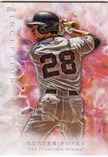 Baseball MLB 2017 Inception #34 Buster Posey NM-MT Giants
