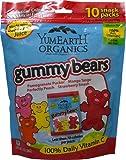 Yummy Earth YumEarth Organics Gummy Bears Assorted -- 10 Packs - 2 pc