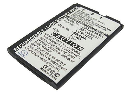 Ux380 Wave - VINTRONS 3.7V Battery For LG LGIP-420A, SBPL0086301, UX370, AX300, Wave, AX271, UX380, AX275, AX380