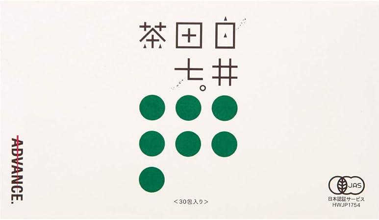 白井田七茶カテキン緑茶田七人参茶(30包入り)和漢の森