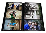 Photo Album / Portfolio for 4 x 6 Inch Photos with Protective Poly Case Space Saver (Holds 300 Photos)