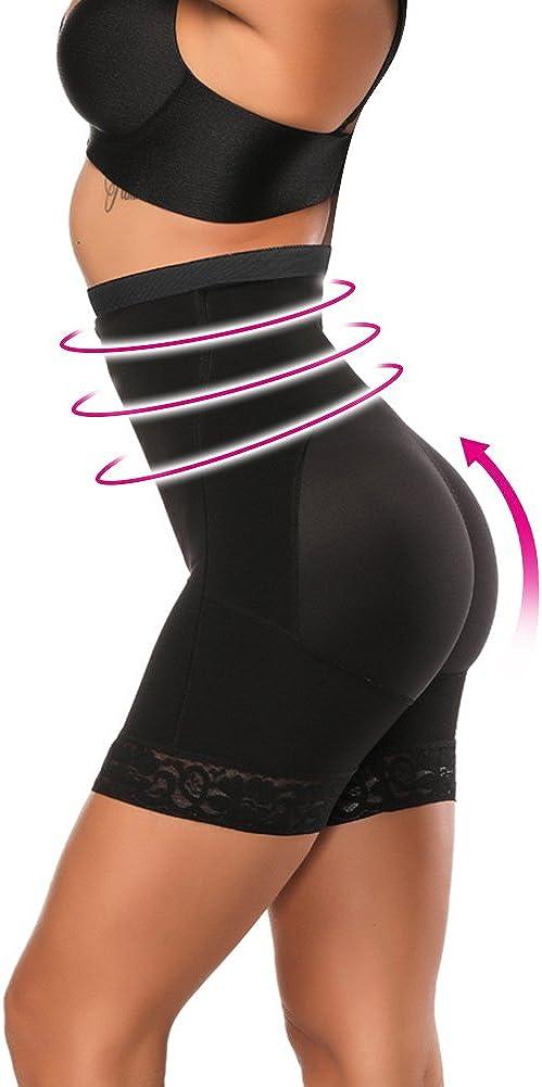 Body Shaper Butt Lifter Shapewear Tummy Control Panty Firm Body Shaper Black XXL