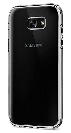check out 79442 51438 Spigen Ultra Hybrid Designed for Samsung Galaxy A7 Case (2017) - Crystal  Clear