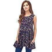 Bearsland Women' Maternity Clothes Sleeveless Comfy Breastfeeding Shirts Nursing Tops,Deepbluepurple,X-Large