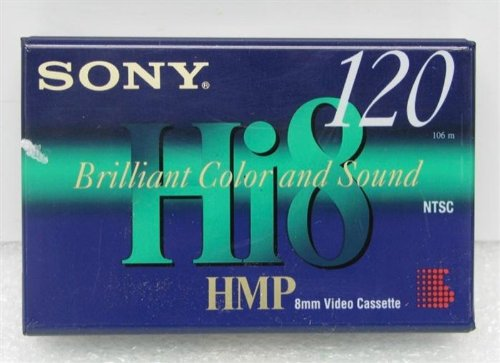Sony P6-120HMPC Hi8 HMP 8mm Video Cassette