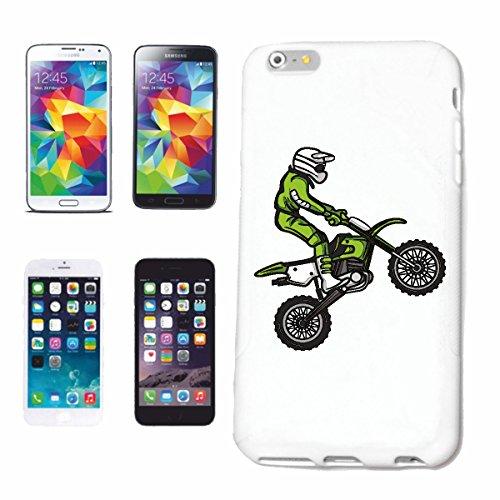 "cas de téléphone iPhone 7 ""MOTOCROSS SILHOUETTE 125cc MOTO-CROSS FREESTYLE MOTOCROSS MOTO SPORT VÊTEMENTS BIKER MOTO BIKE MACHINE"" Hard Case Cover Téléphone Covers Smart Cover pour Apple iPhone en bla"