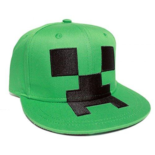 d56d9e39559fd Venta caliente 2018 Minecraft Cap Snapback enredadera verde algodón gorra  de béisbol