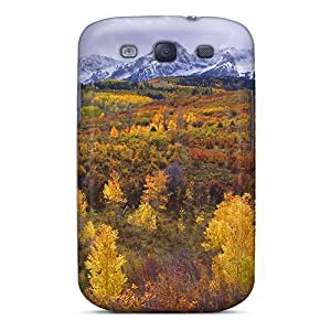 New GAwilliam Super Strong Colorado Rockies Near Telluridein Autuman Case Cover For Galaxy S3