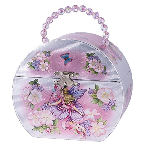 Childrens Musical Jewelry Music Box Ballerina Fairy PNK (Fairy Box Music)