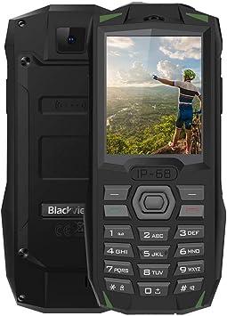 Blackview BV1000 - Teléfono móvil (2,4 pulgadas, 32 + 32 MB, 6261 ...