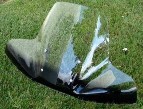 (2-Tone WINDSHIELD for Honda Magna Shadow Spirit Valkyrie VTX VT ACE 600 750 1100)