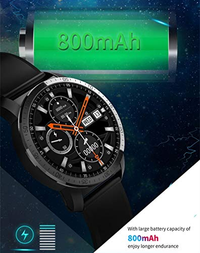 KC09 4G Smartwatchs 1.39-Inch Amoled Round Screen Android Phone Dual Systems 3GB 32GB 800Mah Battery 8MP Camera Waterproof Outdoor Smart Watch Men