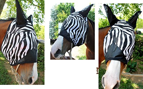 CHALLENGER Horse Equine Fly Mask Bugs Summer Spring for sale  Delivered anywhere in USA