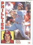 1984 Topps #300 Pete Rose Philadelphia Phillies