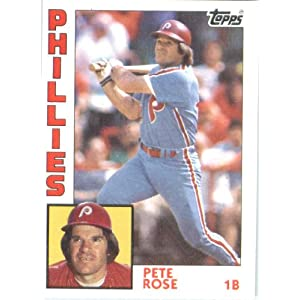 1984 Topps #300 Pete Rose Philadelphia Phillies Baseball Card