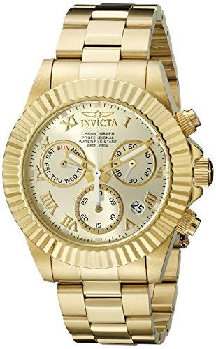 Invicta Men's 16346 Pro Diver Analog Display Swiss Quartz Gold Watch