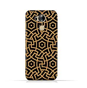 Infinix Zero 4 Plus X602 TPU Silicone Protective Case with Morocco Traditional Arabic Pattern