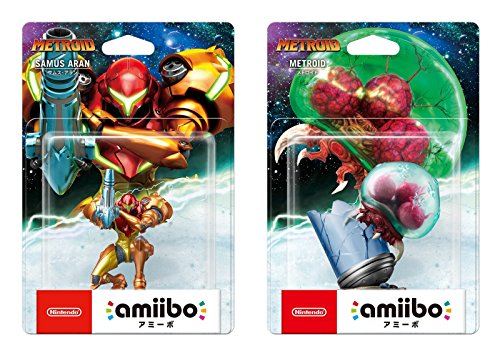amiibo Samus Aran / Metroid (Metroid Series) 2 pieces (Japan import)