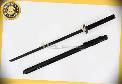 37 Ninjaken Anodized Shinobi Ninja Sword with Black Blade ...