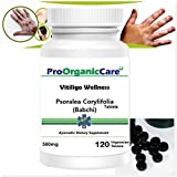 Pro Organic Care Vitiligo Wellness Babchi Tablets Natural Ayurvedic Active Herbs Safe...